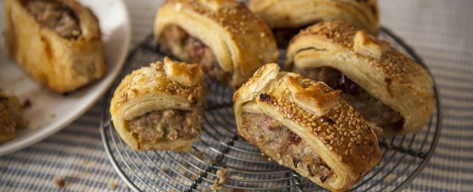 Our sausage rolls recipe is to die for!