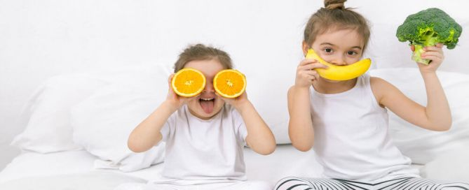 the importance of developing positive eating behaviours in children