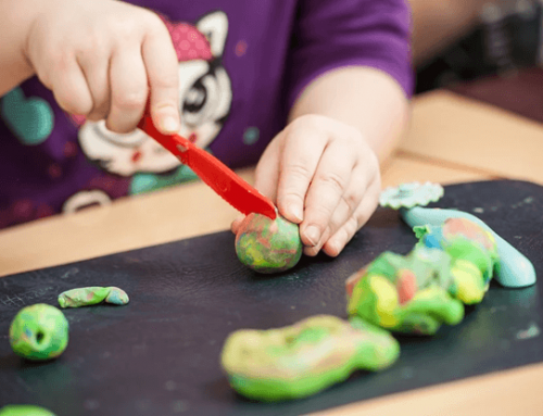 Using Playdough/Clay to Nurture Children's Development